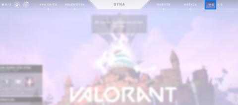 Oyuna giriş yaptıktan sonra V-Points iconuna tıklıyoruz.