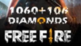Free Fire 1060 + 106 Diamonds