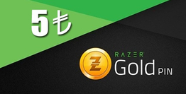 5 TL Razer Gold Pin