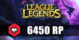 League Of Legends 6450 Riot Points