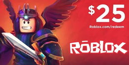 Roblox Gift Card 25 USD