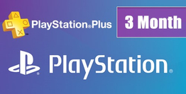 Playstation Plus Card 3 Month US