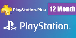 Playstation Plus Card 12 Month US
