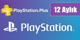 Playstation Plus Kart 12 Aylık TR