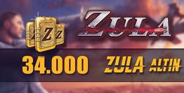 Zula 34.000 Altını