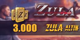 Zula 3.000 Altın