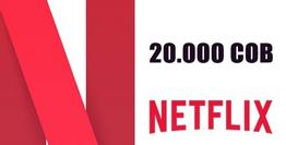 Netflix Gift Card 20.000 COB
