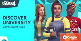 The Sims 4 Discover University DLC