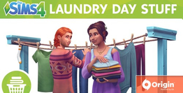 The Sims 4 Laundry Day Stuff DLC