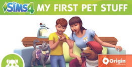 The Sims 4 My First Pet Stuff DLC