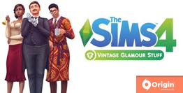 The Sims 4 Vintage Glamour Stuff DLC