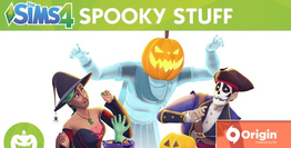 The Sims 4 Spooky Stuff Pack DLC
