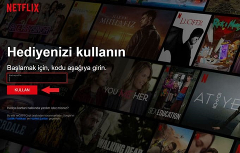 Netflix Hediye Kartı TR