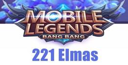 Mobile Legends Bang Bang 221 Elmas