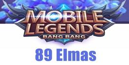 Mobile Legends Bang Bang 89 Elmas