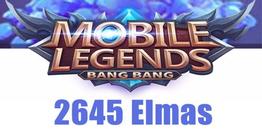 Mobile Legends Bang Bang 2645 Elmas