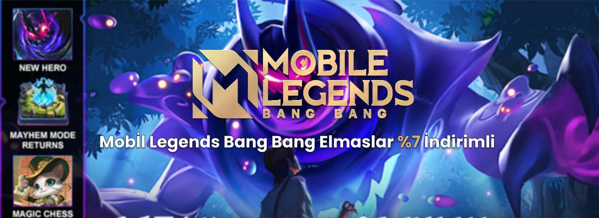 Mobile Legends Bang Bang İndirimli Elmas Satın Al