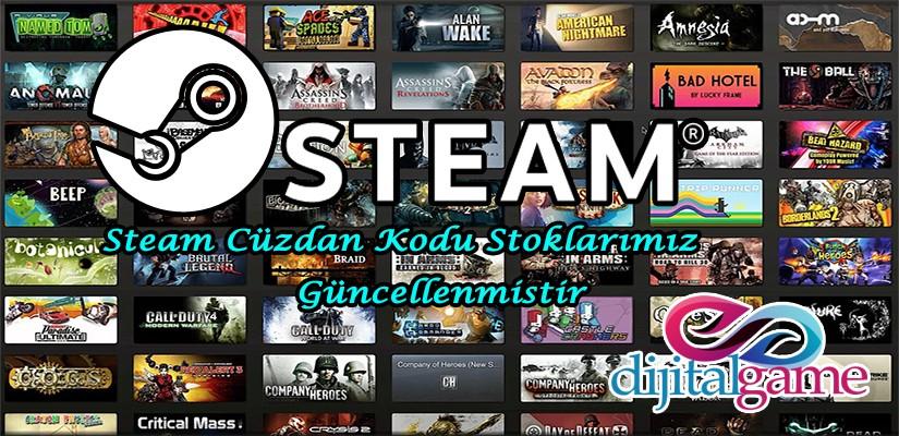 Steam Cüzdan Kodu