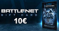 10 Euro Battle Net Gift Card