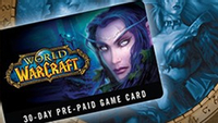 WOW Eu Pre Paid 30 Days Game Card