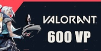 Valorant 600 VP