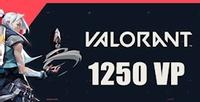 Valorant 1250 VP