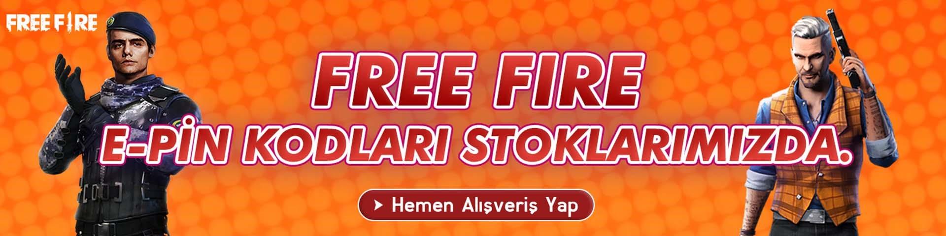 Free Fire Stok geldi