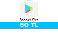 Google Play 50 TL Hediye Kartı