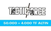 50.000 TF Altın + 4.000 TF Altın Bonus
