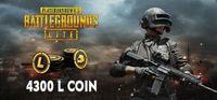 PUBG Lite 4300 L Coin