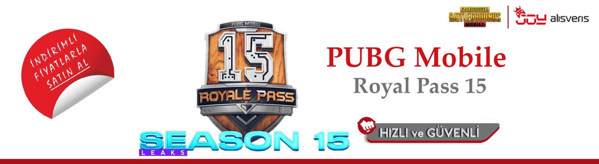 PUBG Mobile Royale Pass 15