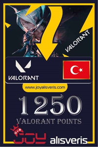 1250 VP Valorant Points