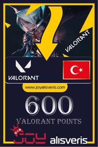 600 VP Valorant Points