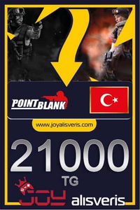 Point Blank 21.000 TG (%5 Bonus)