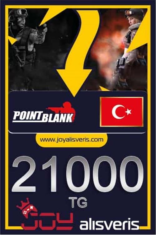 Point Blank 21.000 TG (%5 Bonus)