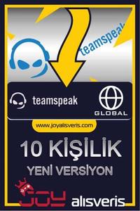 Teamspeak3 10 Kişilik Ts3 (1 AYLIK)