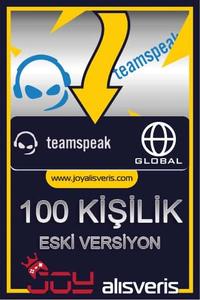 Teamspeak3 100 Kişilik Ts3 (1 Aylık) ESKİ SÜRÜM