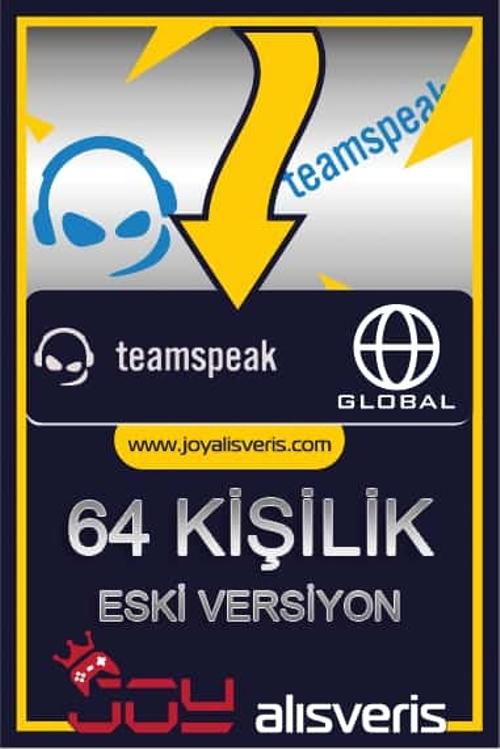 Teamspeak3 64 Kişilik Ts3 (1 AYLIK) ESKİ SÜRÜM