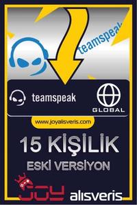 Teamspeak3 15 Kişilik Ts3 (1 AYLIK) ESKİ SÜRÜM