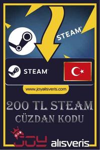 Steam Cüzdan Kodu 200 TL