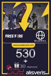 Free Fire 530+30  Diamond