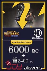6000 + 2400 PUBG Mobile Lite BC