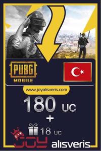 180 + 18 PUBG Mobile UC