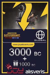 3000 + 1000 PUBG Mobile Lite BC