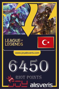 6450 RP Riot Points