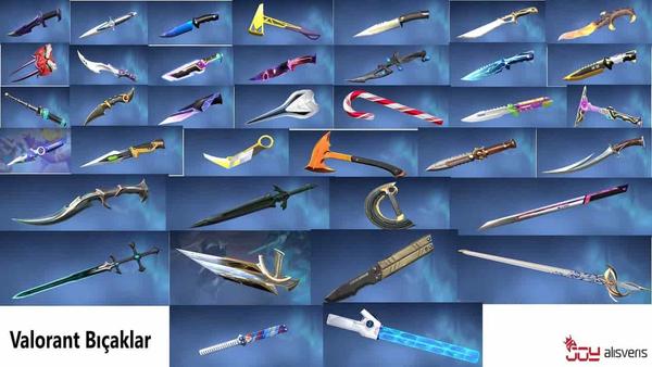 Valorant'ta Bulunan Bıçak Kaplamaları ve Fiyatları