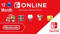 Nintendo Switch Online Membership EU (Europe) 365 Günlük (12 month)