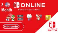 Nintendo Switch Online Membership USA (United States of America) 90 Günlük (3 Month)