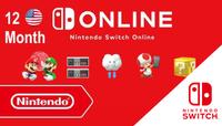 Nintendo Switch Online Membership USA (United States of America) 365 Günlük (12 Month)