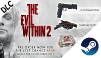 The Evil Within 2 + The Last Chance Pack Steam PC Key